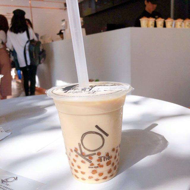 今天喝网红【KOI Thé】奶茶了吗🤗🤗