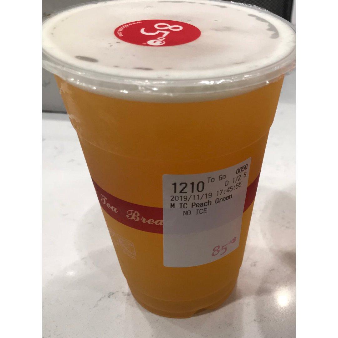 水蜜桃绿茶