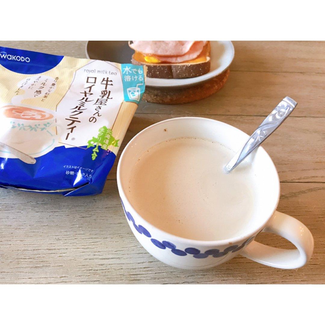 🥛和光堂牛乳屋北海道皇家奶茶粉💙