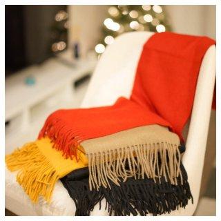 冬日的温暖牌大围巾 | 百变围巾造型...