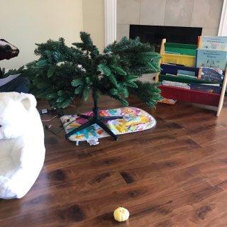 圣诞树装起来需要几步?...