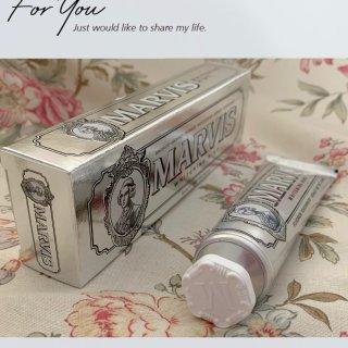 🤍Marvis 高颜值美白牙膏来咯🤍...
