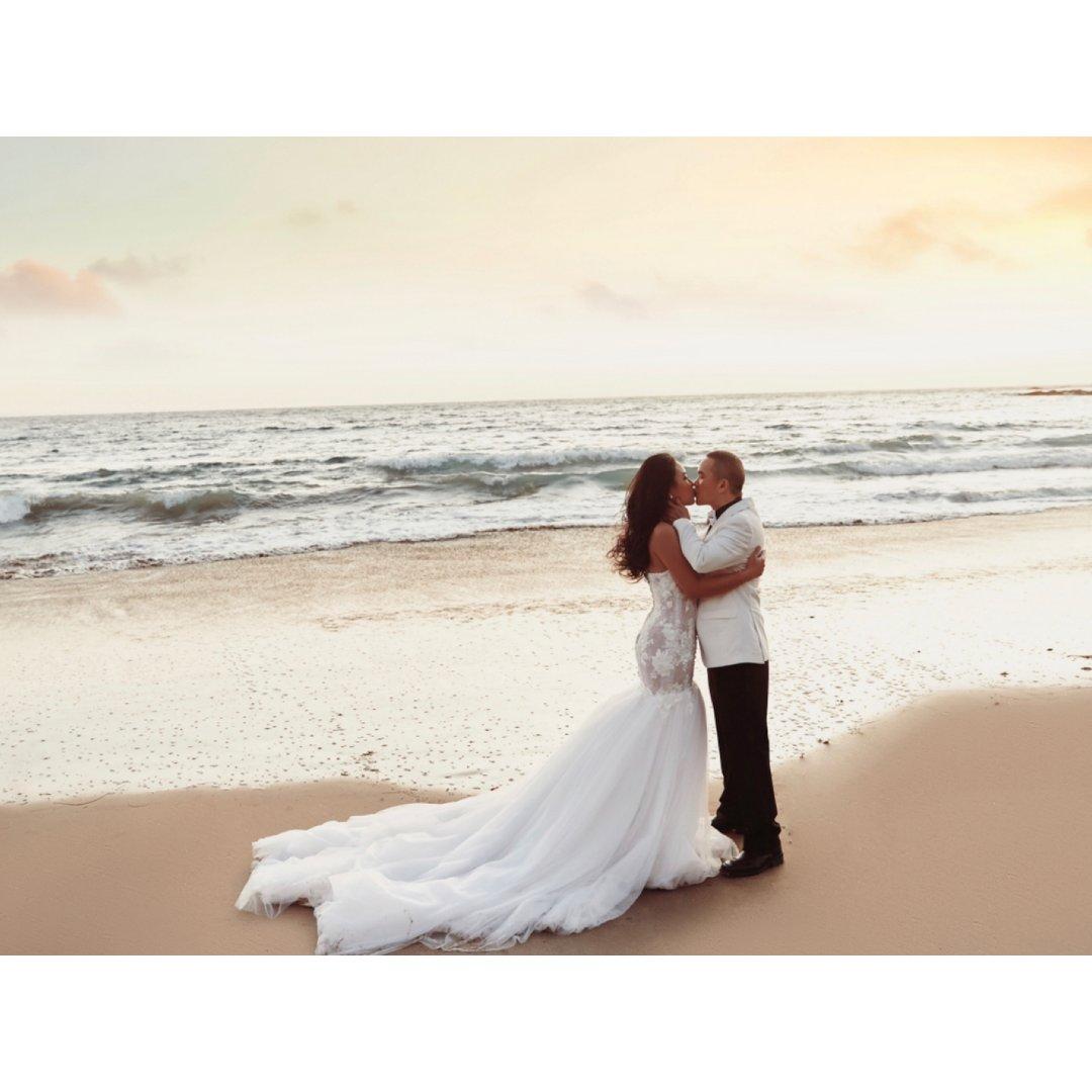 超级美好的婚纱照记录!