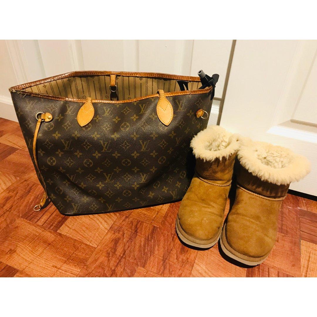 【包包鞋子一色】棕色🏾