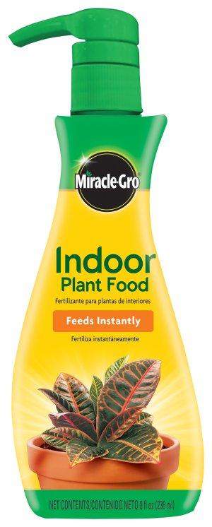 Miracle-Gro Indoor Plant Food, 8 oz - Walmart.com