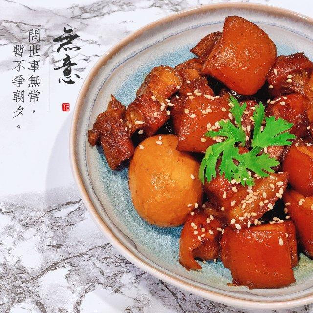 晚餐小饭桌:不炒糖色的红烧肉