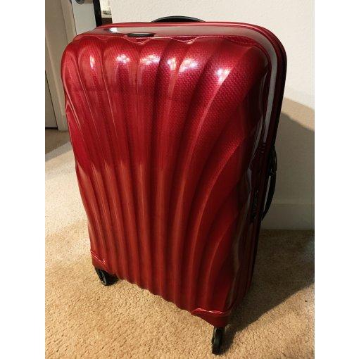 双十一成果 Samsonite黑标贝壳超轻28寸行李箱♥️