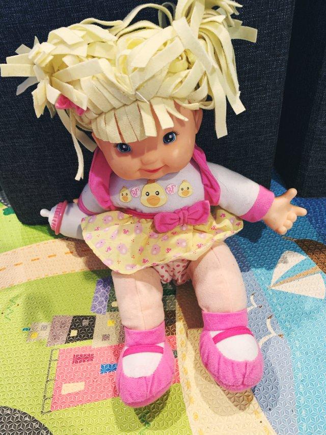 5 粉粉的洋娃娃