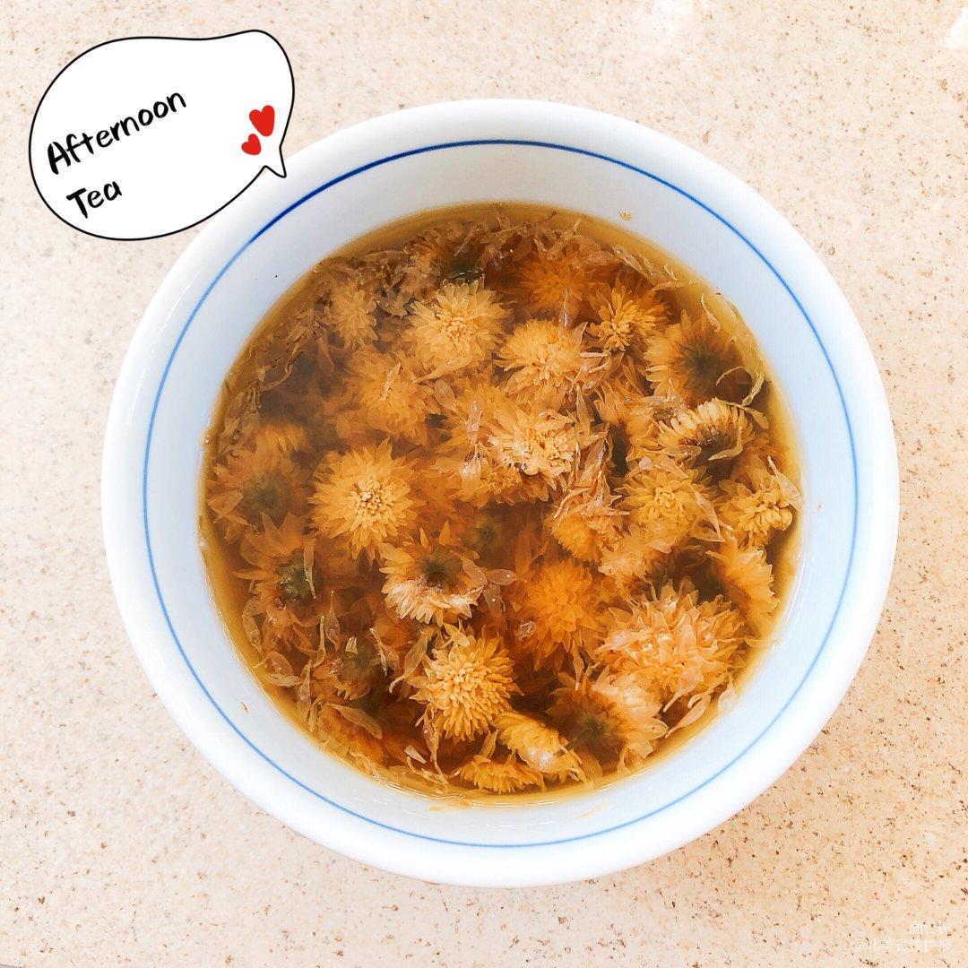 清热解毒菊花茶