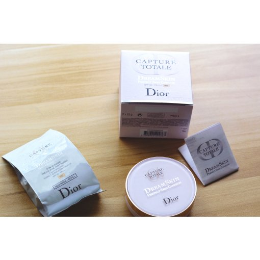 彩妆品分享—Dior Dreamskin气垫粉底