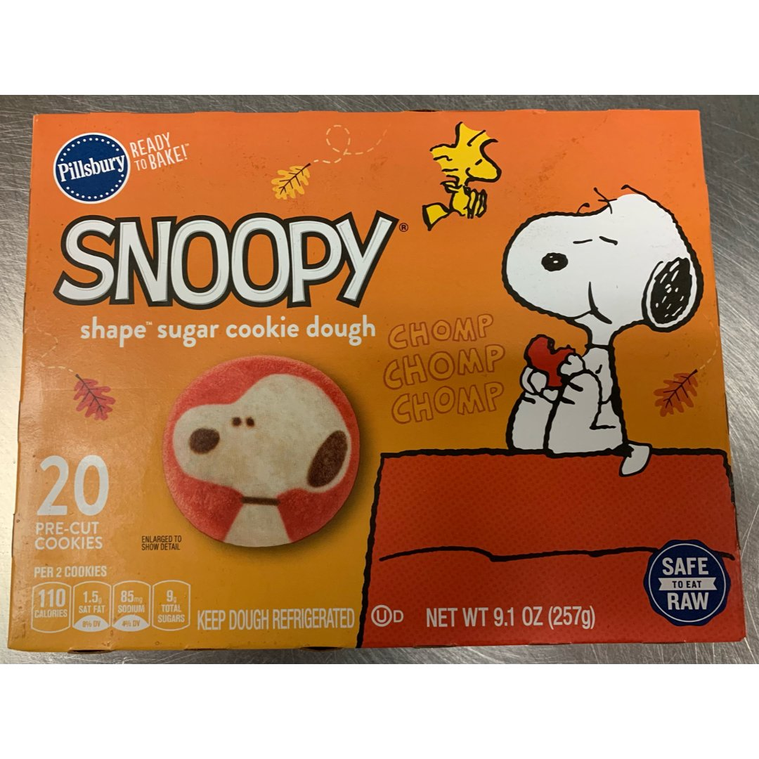 Snoopy sugar cook...