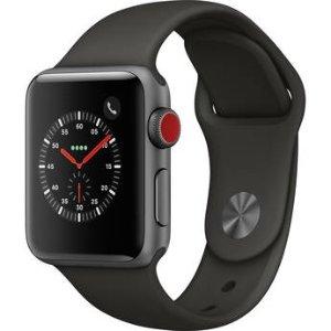 $379Apple Watch Series 3 38毫米智能手表 (GPS + 蜂窝)