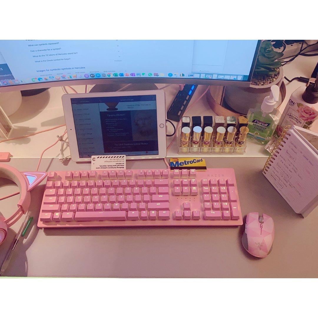 RAZER✨ 粉色区好看!