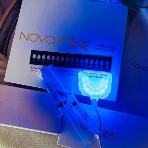 晒货区种草的Novashine 冷光牙齿美白神器