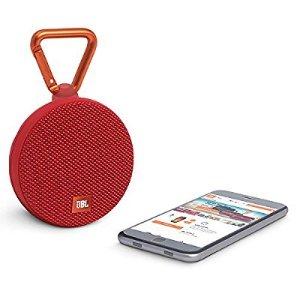 $35.95 JBL Clip 2 Waterproof Portable Bluetooth Speaker