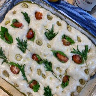 意大利🇮🇹佛卡夏面包 Focaccia ...