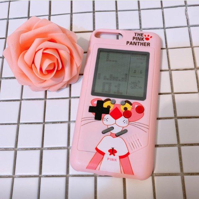 粉色之游戏机手机壳