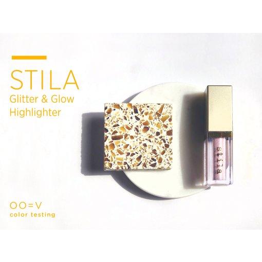 Stila亮片Glitter液体眼影高光highligher