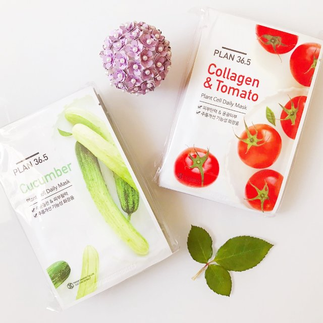 Image result for PLAN36.5 PLANT CELL DAILY MASK COLLAGEN & TOMATO