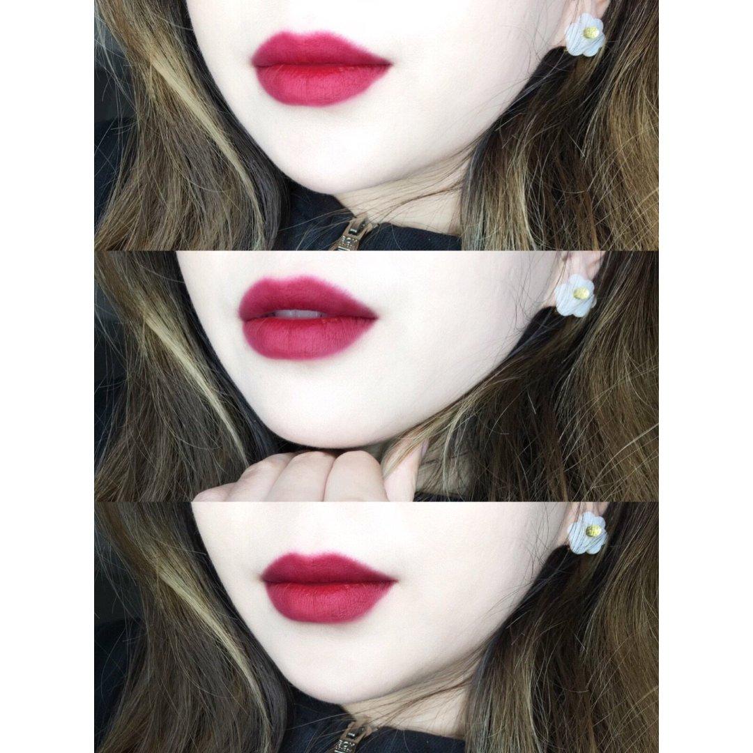 显白的红浆果色nars哑光唇釉🍇...
