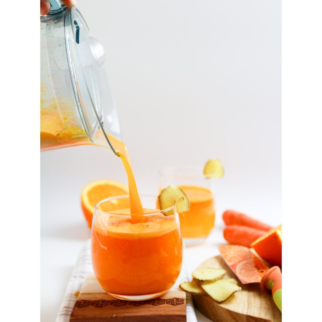 健身饮品|鲜橙红萝卜生姜饮...