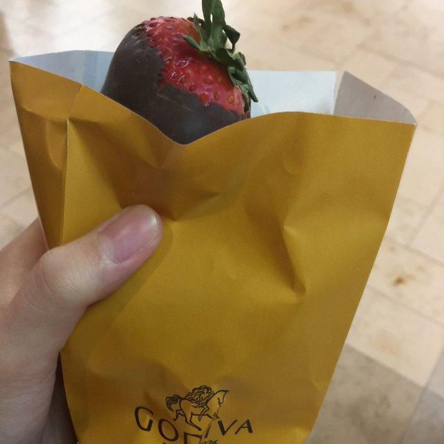 Go die娃的草莓巧克力
