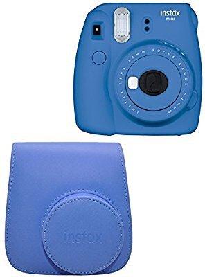 $64.99 送同色系相机包Fujifilm Instax Mini 9 拍立得 蓝色