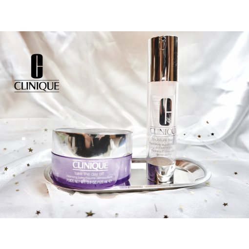 【空瓶】Clinique卸妆膏 & 保湿精华