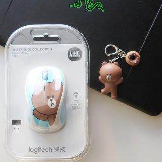 微众测|Logitech x Line Friends鼠标