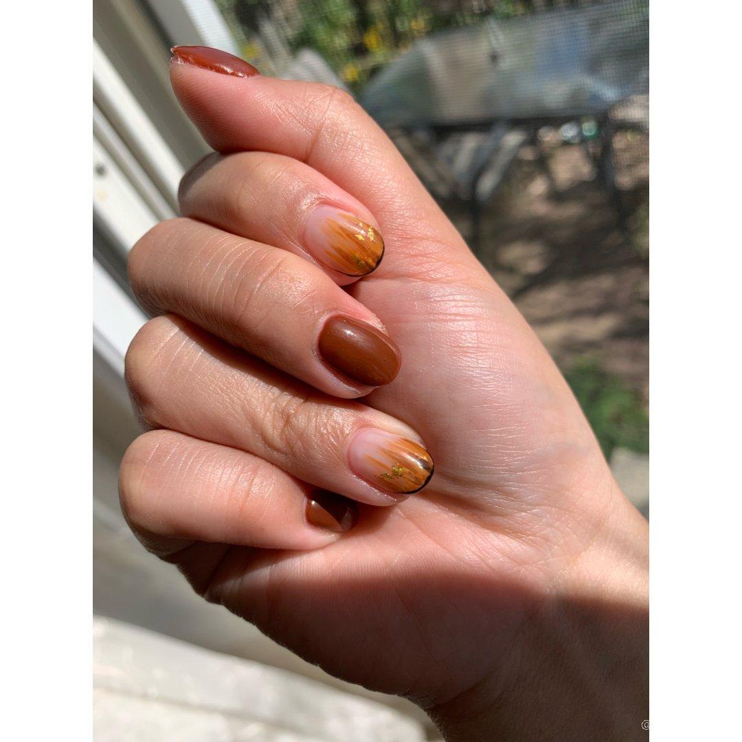 爽过的美甲 💅多短的指甲都能很美呢