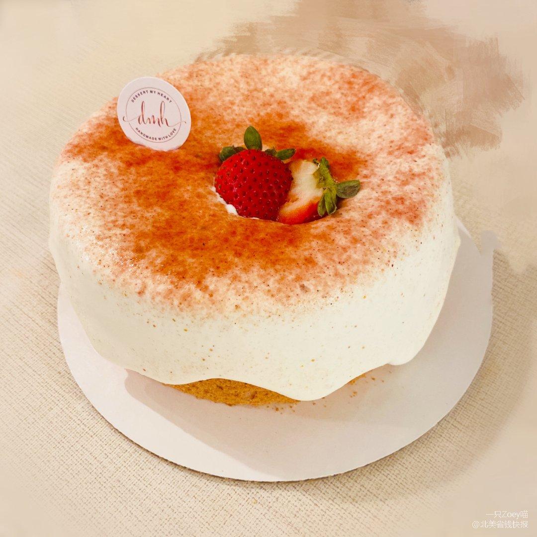 黑五打卡 | 草莓奶昔蛋糕