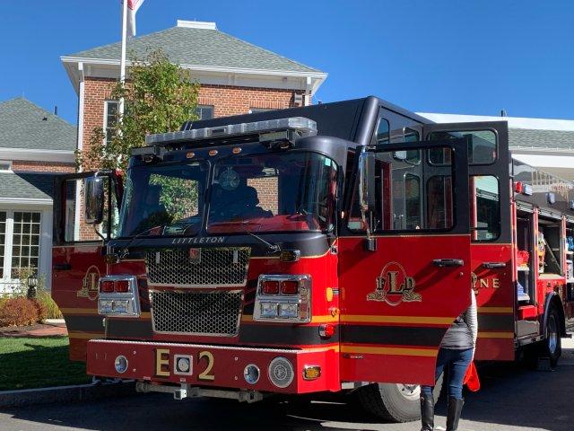 美国消防局开放体验日