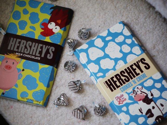 换季长膘【萌坏了的好时巧克力】