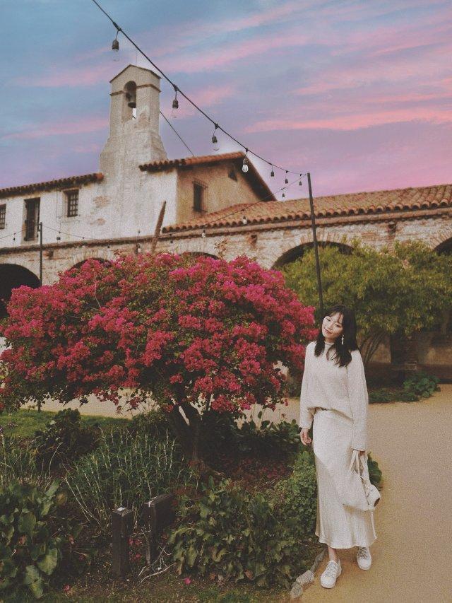 洛杉矶▪️超美的西班牙风情教堂⛪️