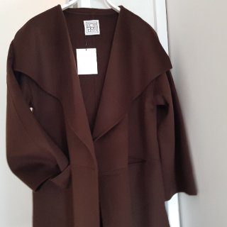 🍁OOTD, 新入的Toteme大衣...
