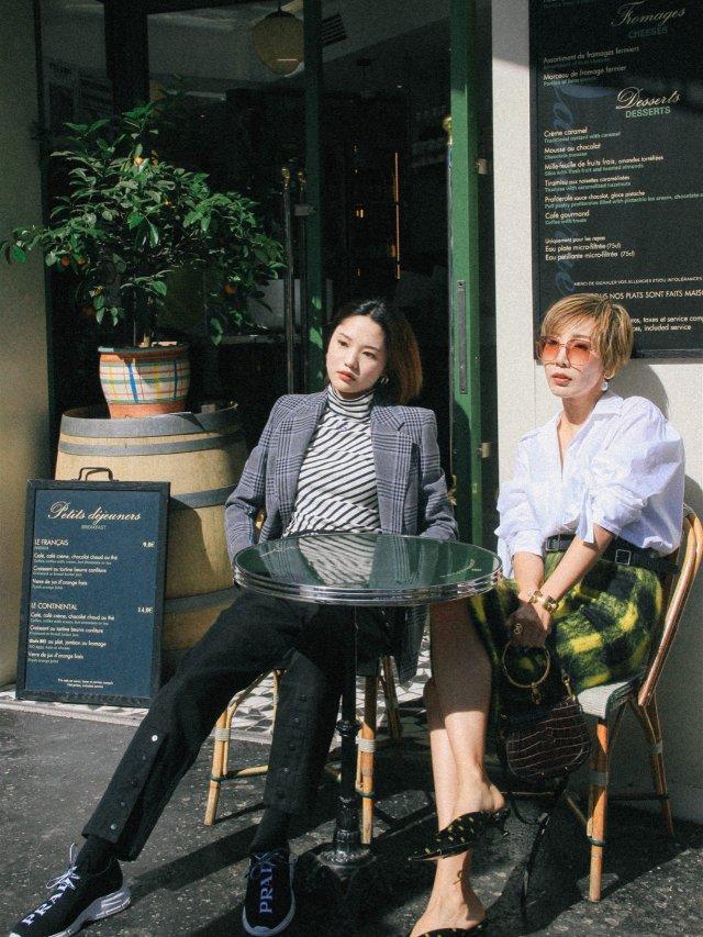 巴黎街拍 / 和Fiona的Loo...