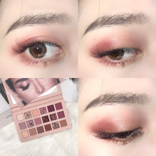 Huda Beauty New Nude 眼妆教程