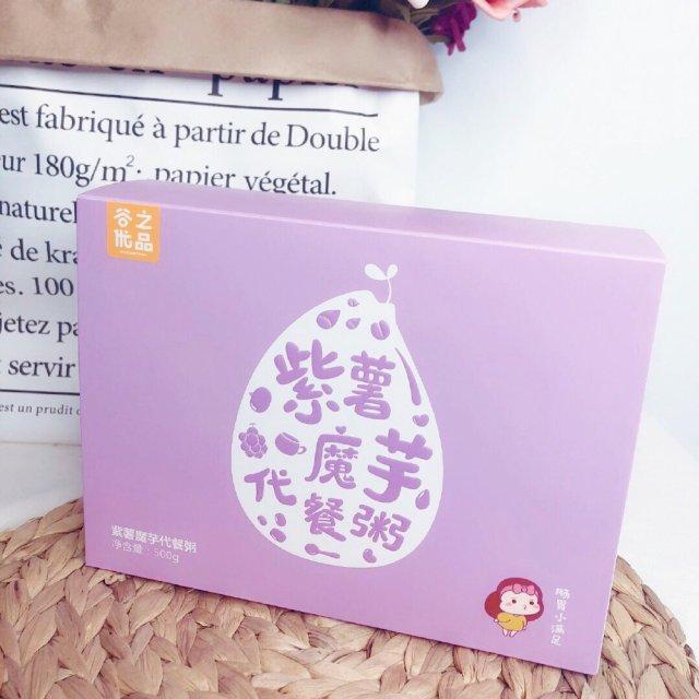 👉🏻饱腹减肥 - ㊙️🍠紫薯魔芋代餐粥