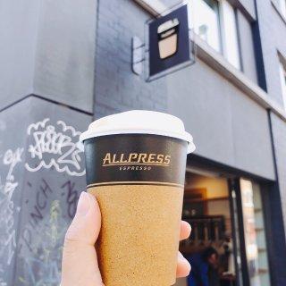 宅家打卡|伦敦外带咖啡Allpress...