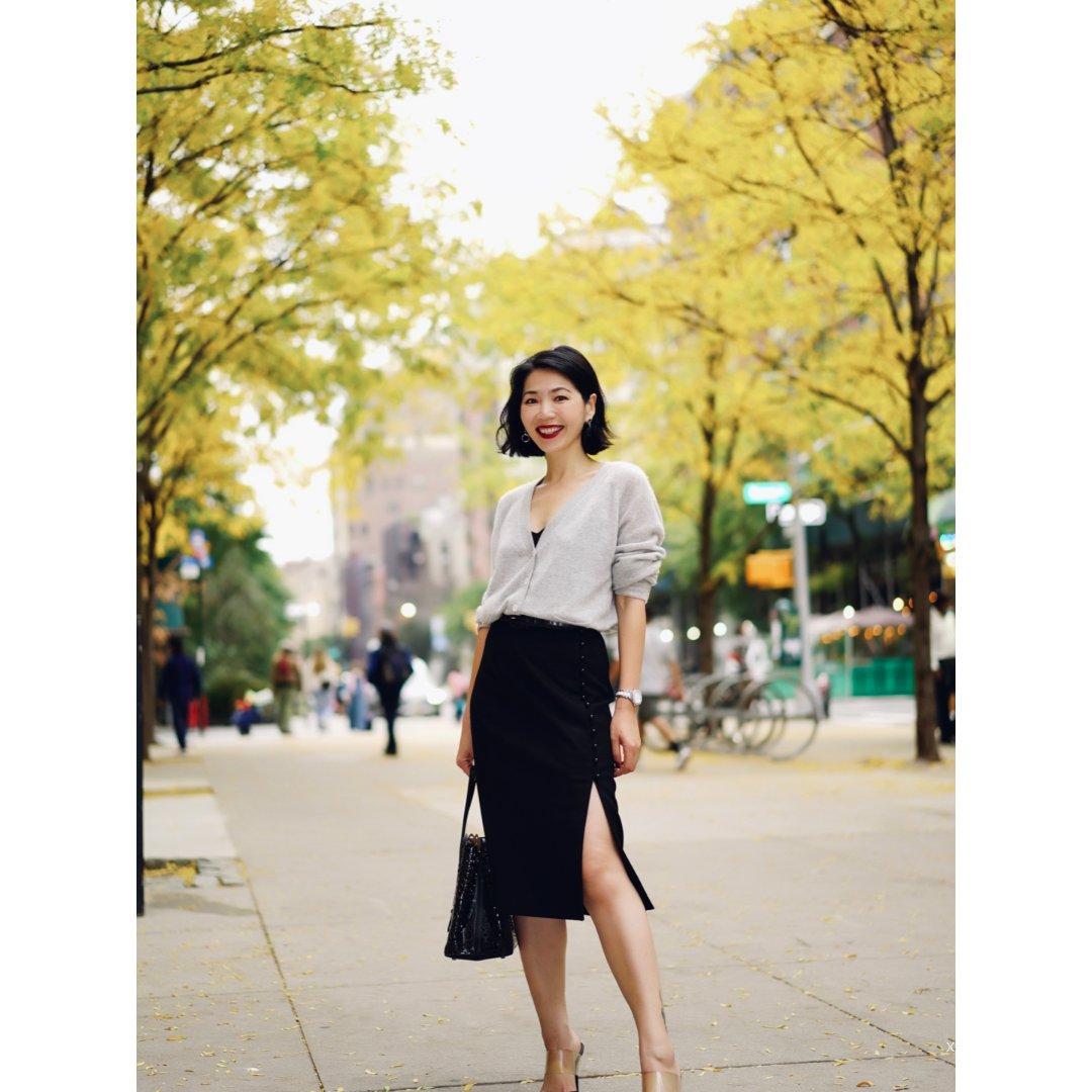 职场穿搭✨衬衣+半裙 = 气质办公室女郎