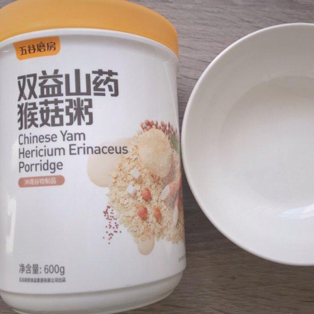 早餐推荐·五谷磨坊山药猴菇粥