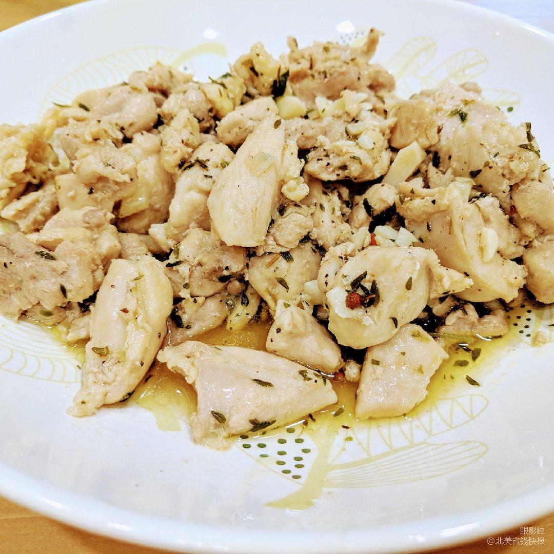 #超简单食谱-义式风味炒鸡肉#