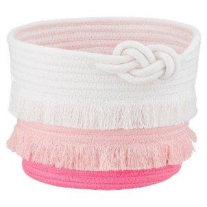 Coil Rope Basket (Small) Pink - Pillowfort™ : Target