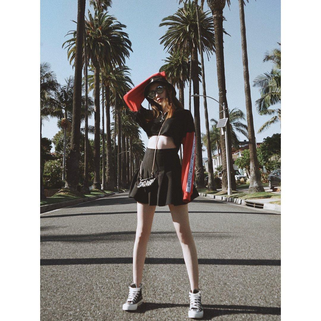LA网瘾少女已上线|洛杉矶棕榈树🌴...