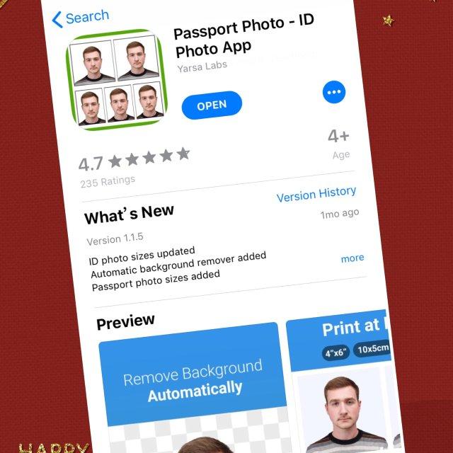 有了这个app,护照照片在家轻松搞定