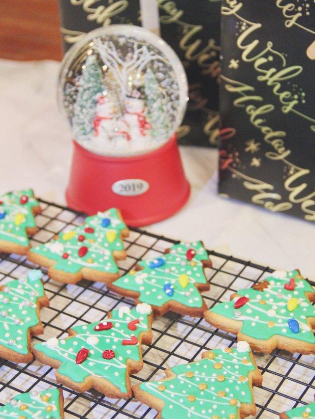 每年例行的自制圣诞糖霜饼干🎄