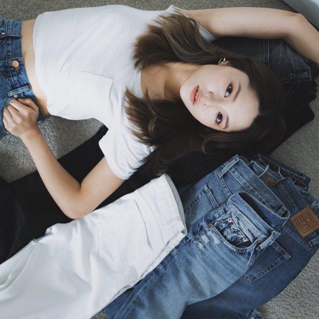 牛仔裤合集 / 11条最爱