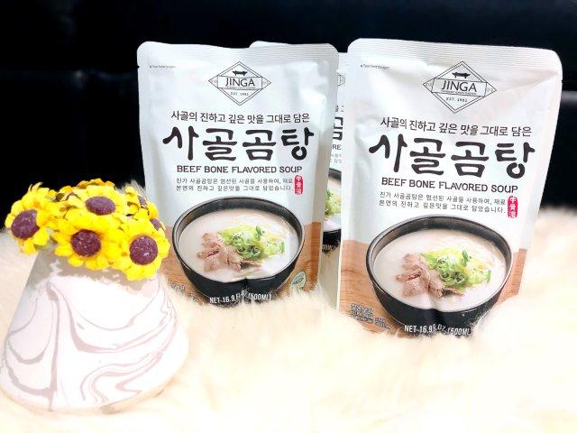 方便快捷的韩式牛骨汤