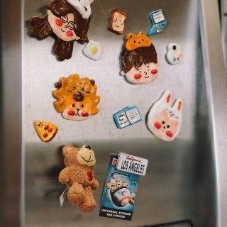 自制冰箱贴 疫情发生时可以在家做的事✌️...
