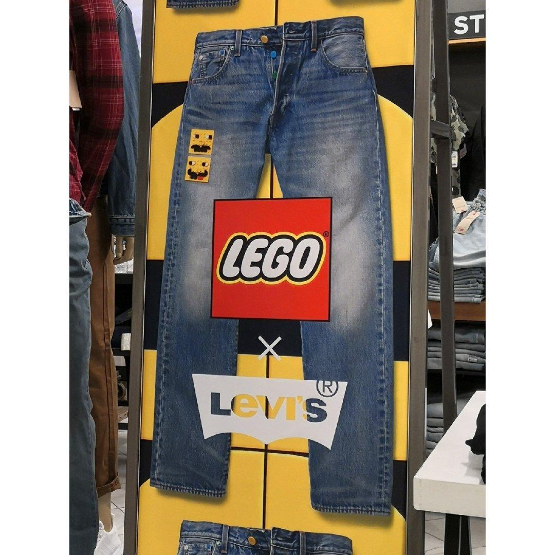 可爱🔶Levis x Lego联名款🔶